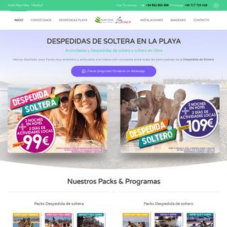 Despedida en la Playa de Oliva2020 - INICIO
