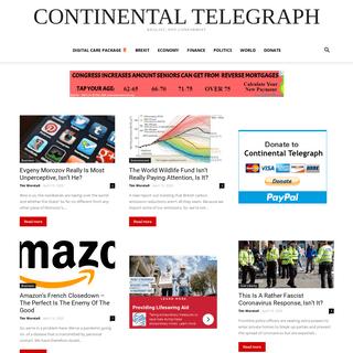 Continental Telegraph - Realist, Not Conformist