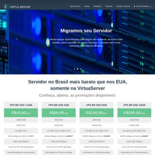 ArchiveBay.com - virtuaserver.com.br - VirtuaServer - Dedicado, VPS e Cloud - Gerenciamento Sob Demanda