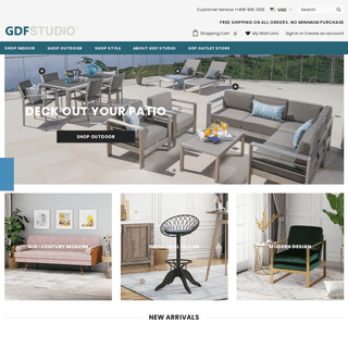 GDF Studio- unique, high-quality and affordable furniture