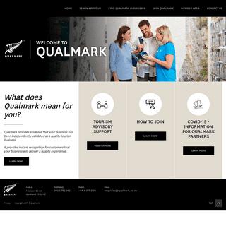 Qualmark – New Zealand tourism's official mark of quality