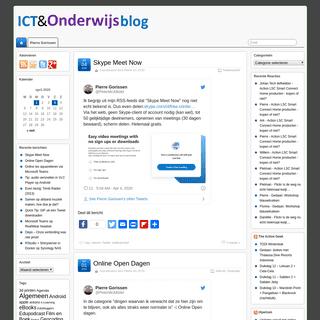 ICT en Onderwijs BLOG