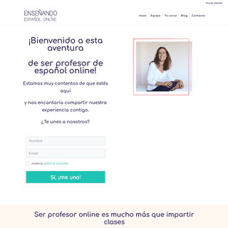Ser profesor de español online - Enseñando Español Online