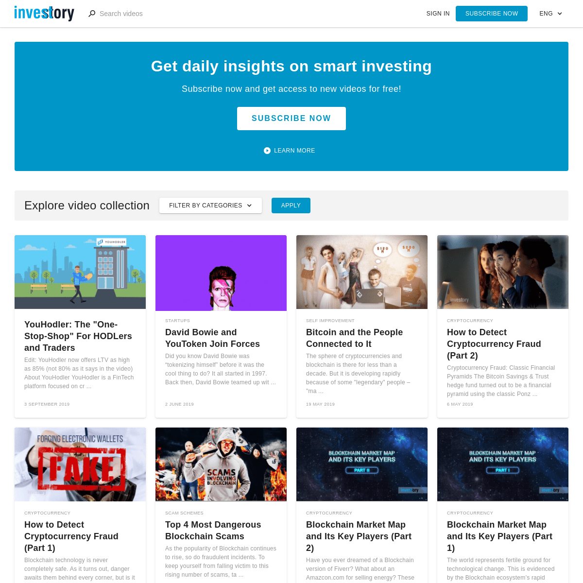 Investory - Stories about Investing
