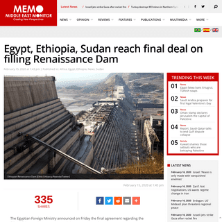 ArchiveBay.com - www.middleeastmonitor.com/20200215-egypt-ethiopia-sudan-reach-final-deal-on-filling-renaissance-dam/ - Egypt, Ethiopia, Sudan reach final deal on filling Renaissance Dam – Middle East Monitor
