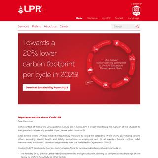 LPR - The pallet pooling expert