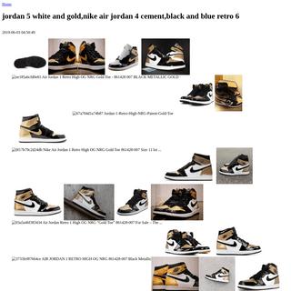 jordan 5 white and gold,nike air jordan 4 cement,black and blue retro 6 - ordre-quinte.com