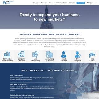 Your Back Office Services Provider in LATAM - Biz Latin Hub