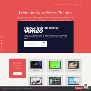 Premium WordPress Themes, Deutscher Support - Designers Inn