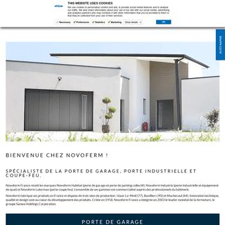 Novoferm - Spécialiste porte de garage, porte industrielle et porte coupe feu - Novoferm