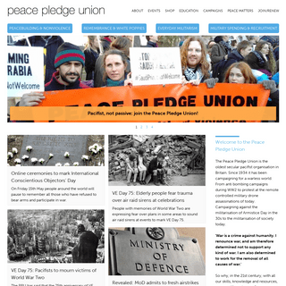 Peace Pledge Union -