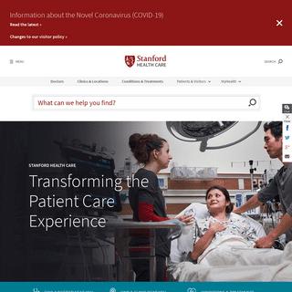 Stanford Health Care (SHC) - Stanford Medical Center - Stanford Health Care