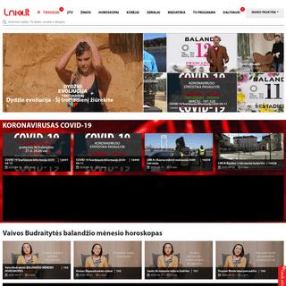 LNK.lt - televizija internetu (LNK, BTV, TV1, Info TV), laidos, serialai, žinios