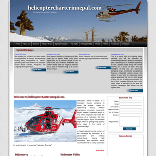 Helicopter Charter Nepal, Helicopter Charter Company, Nepal Helicopter Charter