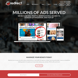Native Advertising & Redirect - Redirect.com
