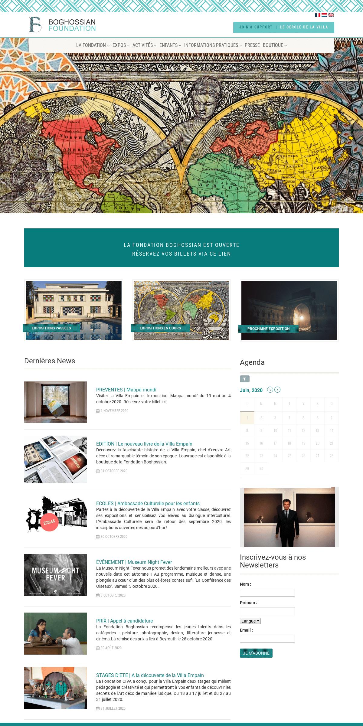 Accueil - Villa Empain - Fondation BoghossianVilla Empain – Fondation Boghossian
