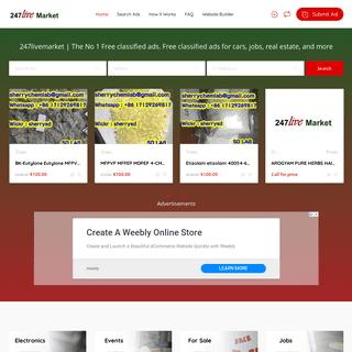 ArchiveBay.com - 247livemarket.com - 247livemarket - Ghana Classifieds Ads, Free Ads