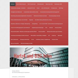 Startseite - Hartz4-und-BSG-Infos