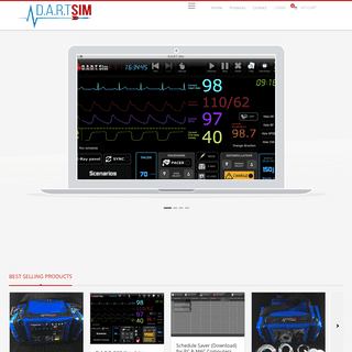 ECG Simulator by DART Sim – ECG Simulator for Tablets, Computers & iPads