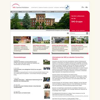 SHG - Saarland-Heilstätten GmbH- Startseite SHG-Gruppe