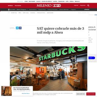 SAT multa a Alsea, operadora de Domino's Pizza y otros restaurantes