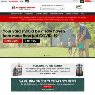 ArchiveBay.com - mosquitomagnet.com - Mosquito Traps To Protect Your Home Or Business - Mosquito Magnet®