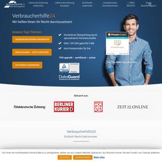 ArchiveBay.com - verbraucherhilfe24.de - Verbraucherhilfe24 - Das Rechtsportal für Verbraucherrechte