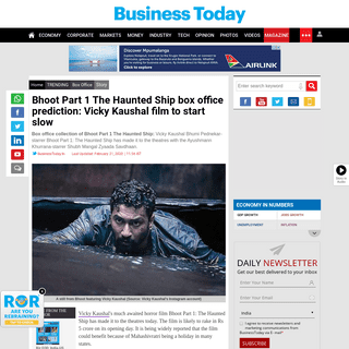 ArchiveBay.com - www.businesstoday.in/trending/box-office/bhoot-part-1-the-haunted-ship-box-office-prediction-vicky-kaushal-film--start-slow/story/396636.html - Bhoot Part 1 The Haunted Ship box office prediction- Vicky Kaushal film to start slow