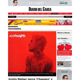 Justin Bieber lanza 'Changes' y se lo dedicó a Hailey Bieber en el Día de San Valentín - Diario del Cauca