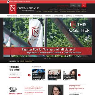 ArchiveBay.com - normandale.edu - Home - Normandale Community College
