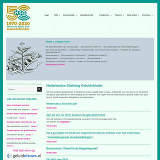 Nederlandse Stichting Geluidshinder - Home