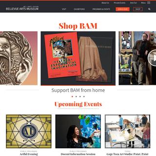 Bellevue Arts Museum - Art Exhibitions, Events, & Workshops