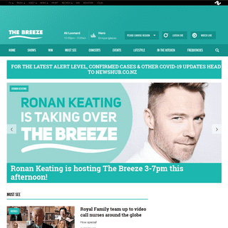 The Breeze - Competitions, Music, Travel, Tips for the Home, Recipes and more