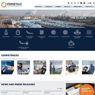 Primetals Technologies - Metallurgical Plant Solutions