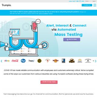SMS Marketing & Mass Texting Service - Trumpia