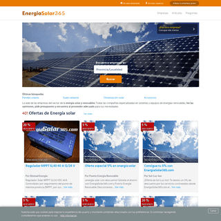Energía solar - EnergiaSolar365.com