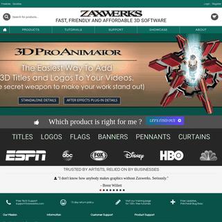 ArchiveBay.com - zaxwerks.com - Zaxwerks 3D Software