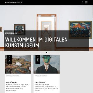 Kunstmuseum Basel – Kunstmuseum Basel