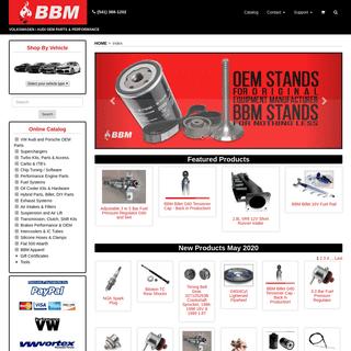 ArchiveBay.com - bahnbrenner.com - BBM VW, Audi Performance & OEM Parts