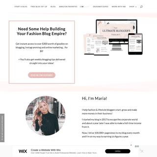 The Chic Pursuit - Online Platform For High Achieving Fashion Bloggers