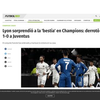 Lyon vs Juventus- goles, resultado, mejores momentos en Champions League 2020 - Champions League - Futbolred