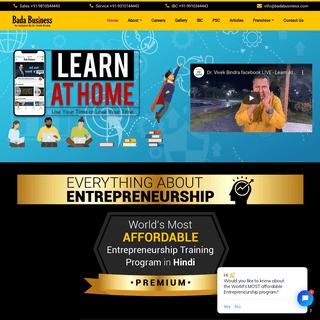 Everything About Entrepreneurship programme by Dr. Vivek Bindra