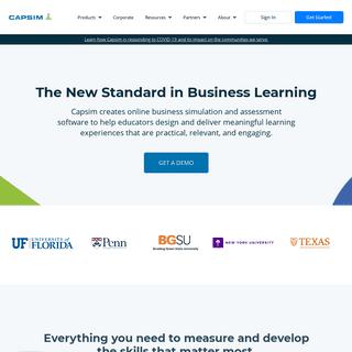 Capsim - Simulation-based teaching tools for educators