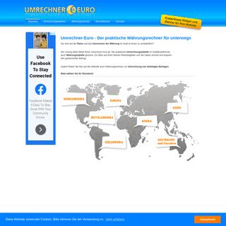 Umrechner-Euro - Währungsrechner, Umrechnungstabelle, Wechselkurse
