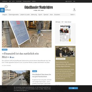 ArchiveBay.com - shn.ch - Startseite - Schaffhauser Nachrichten
