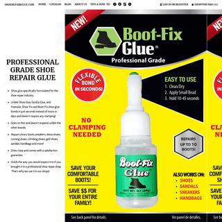 ArchiveBay.com - shoerepairglue.com - Professional Grade Shoe Repair Glue- The Shoe Glue The Pros Use! – shoerepairglue.com