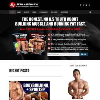 Sean Nalewanyj - Real, Science-Based Fitness Advice