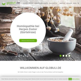 Globuli.de - ...mein Homöopathie-Portal