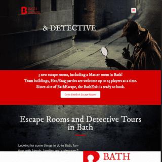 Bathescape - Live Escape Rooms & Detective Games in Bath