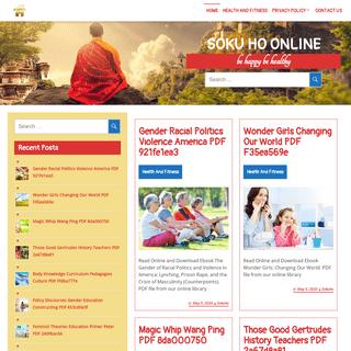 Soku Ho Online – be happy be healthy
